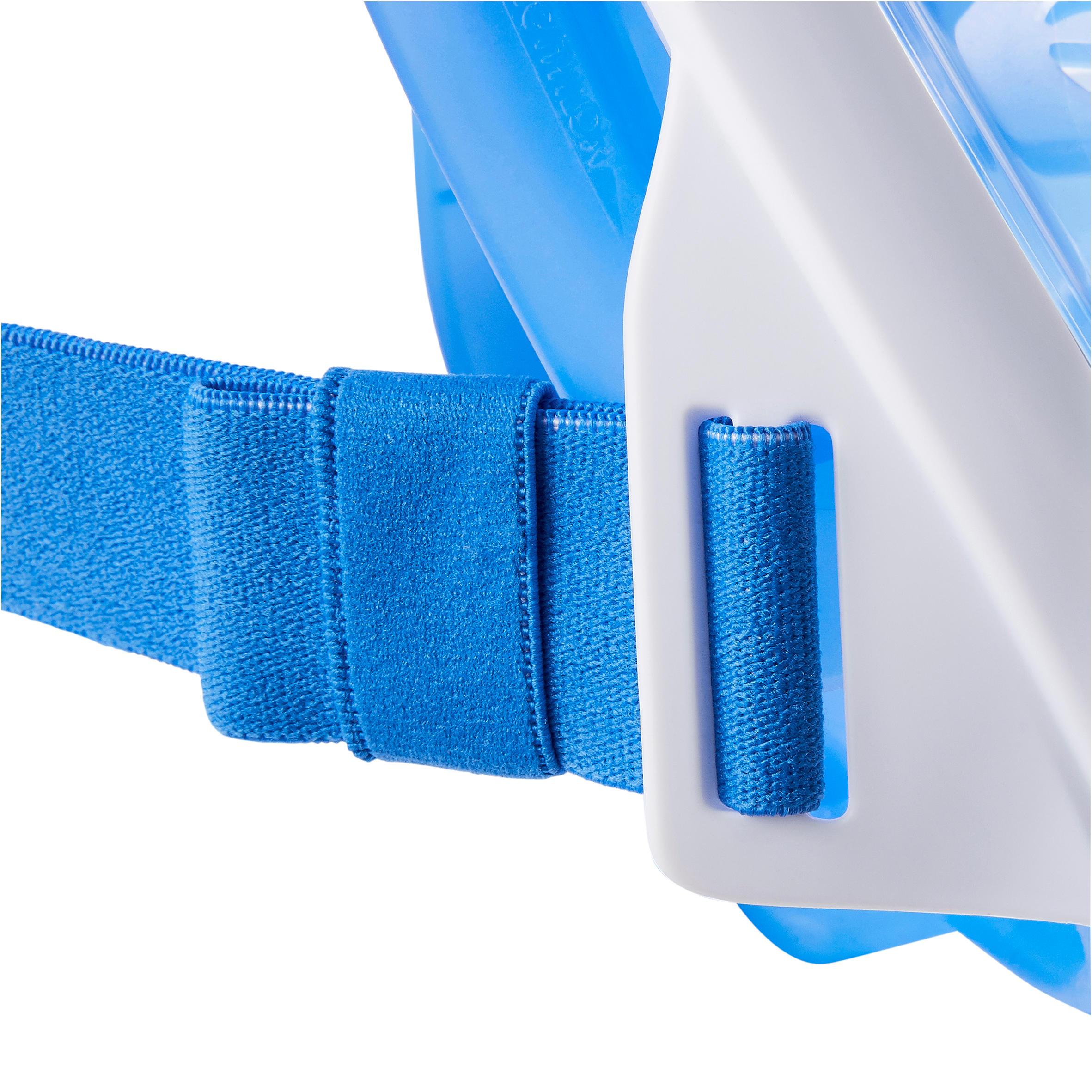 Masque de snorkeling en surface Easybreath bleu