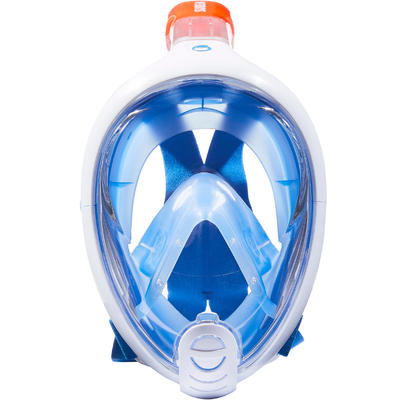 Masque de snorkeling en surface Easybreath bleu
