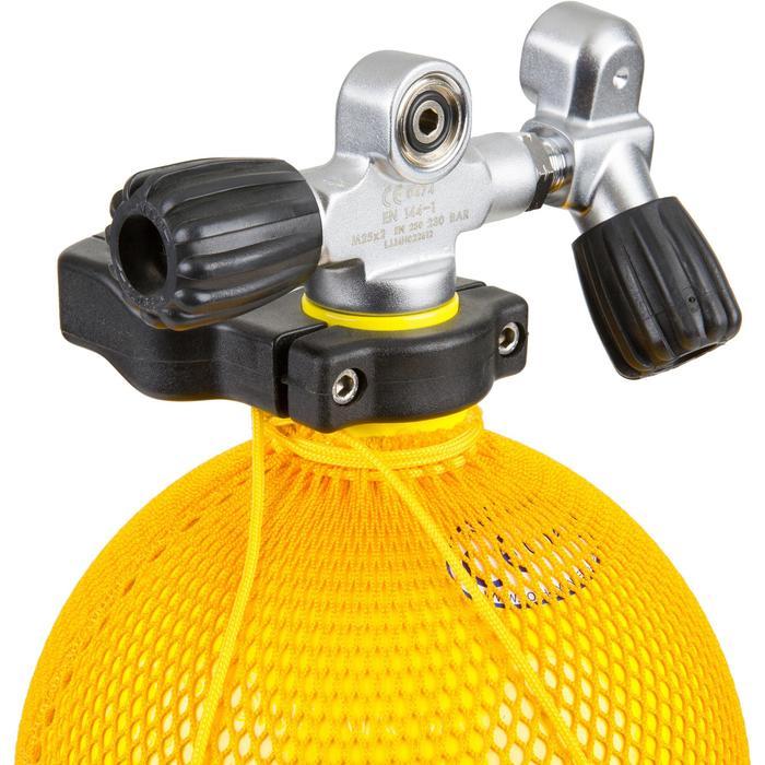 Korte duikfles voor diepzeeduiken 12 liter 230 bar