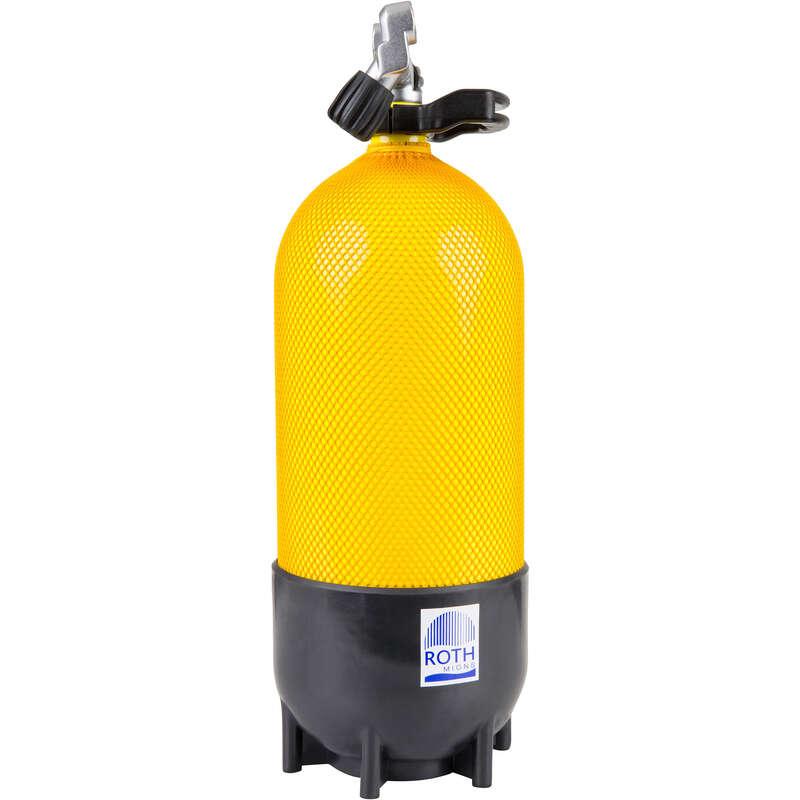 PALACKOK SCD Búvárkodás - Búvárpalack, 12 liter, 230 bar ROTH - Palackos búvárkodás