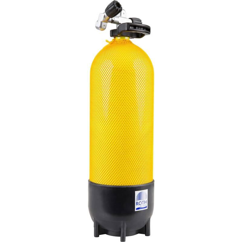 POTÁPĚČSKÉ LÁHVE Potápění a šnorchlování - TLAKOVÁ LAHEV 15 L 230 BAR ROTH - Potápění