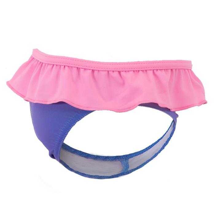 Bañador 1 pieza braguita bebé estampado azul y rosa