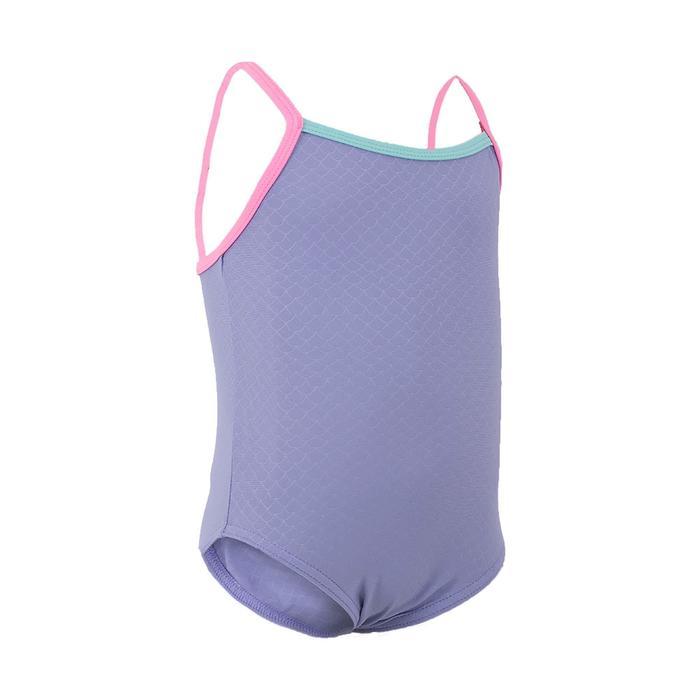 Peuterbadpak voor meisjes met blauw motief