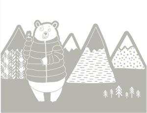 coloriages-enfants-animaux-de-la-foret-montagne