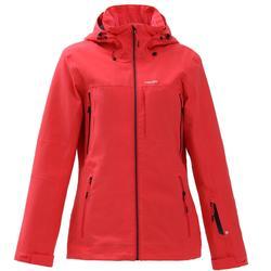 女款單/雙板滑雪外套FREE 500 - 粉紅色