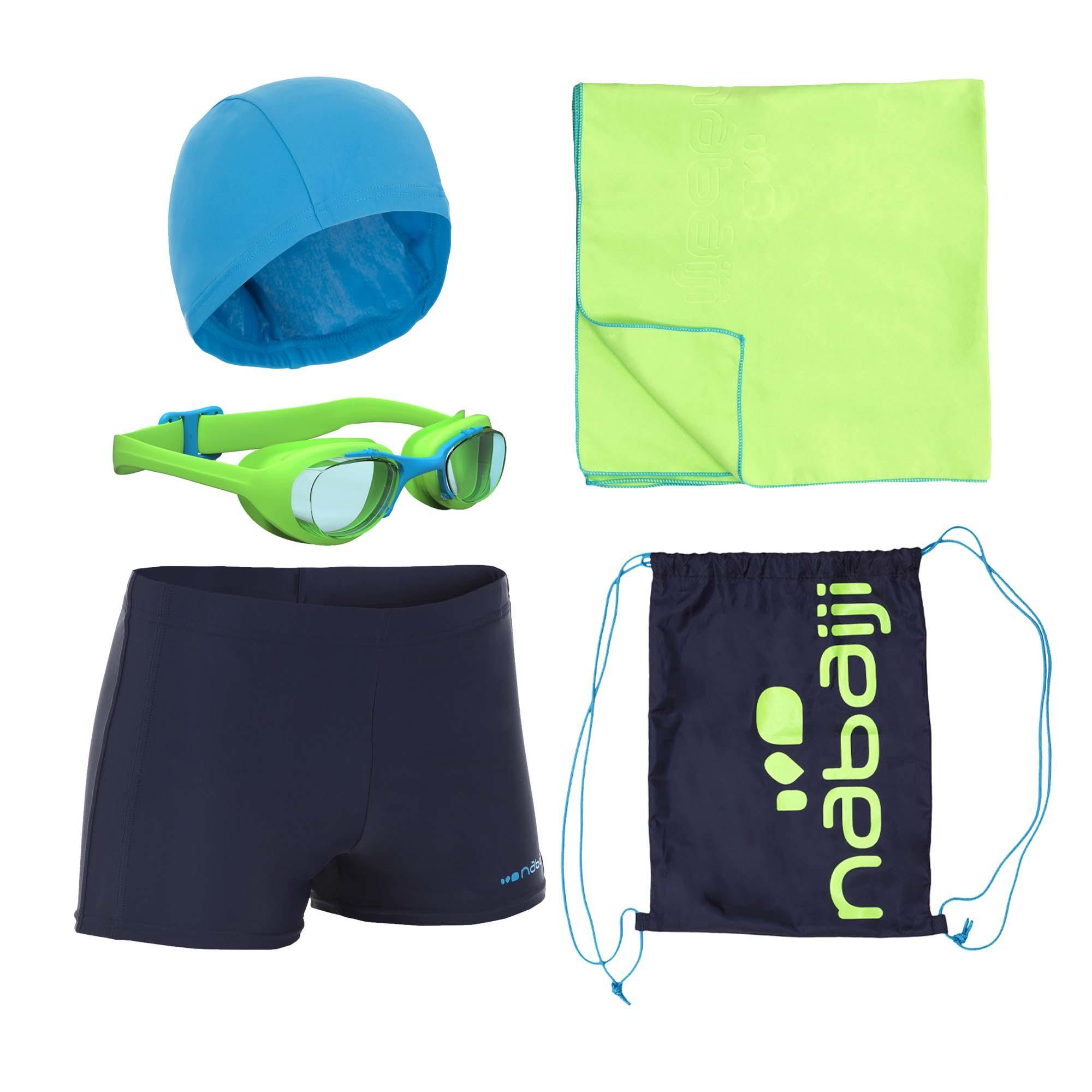 231369abffbf4d Nabaiji Zwemset B Active Zwembroek Zwembrilletje Badmuts Handdoek Zwemtas  nabaiji kopen in de aanbieding