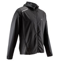 男款跑步外套RUN WIND - 黑色