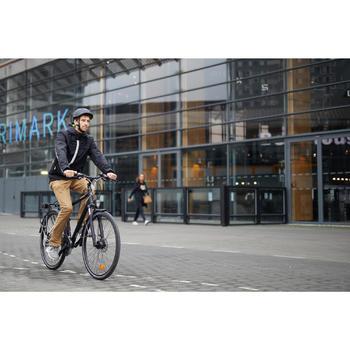 Veste Pluie chaude Vélo 900 Homme Noir