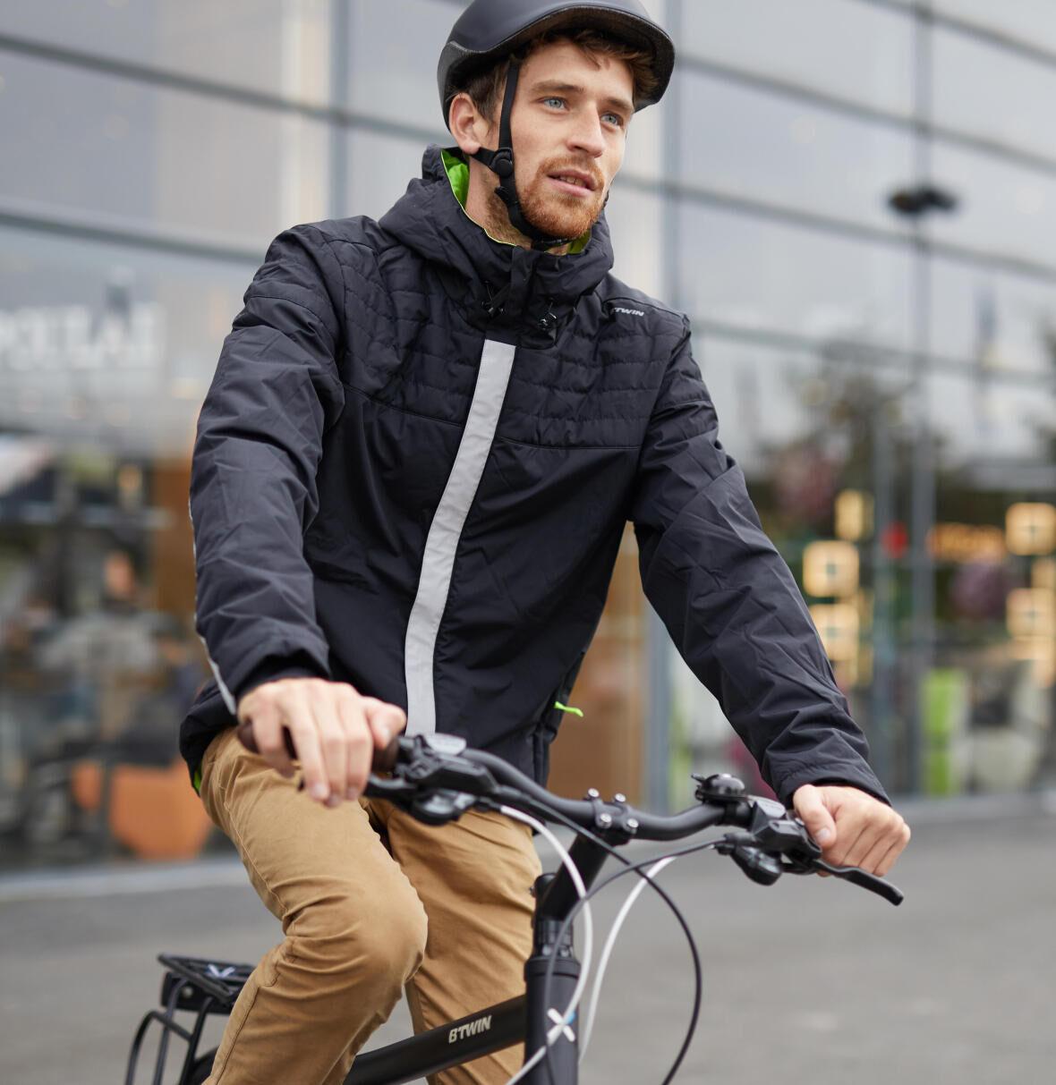 homme sur bicylce