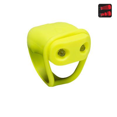 Задній ліхтар SL100 для велосипеда, світлодіодний, на батарейках - Жовтий