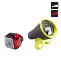 """Priekinio / galinio baterijomis maitinamų LED dviračio žibintų rinkinys """"ST 100"""""""