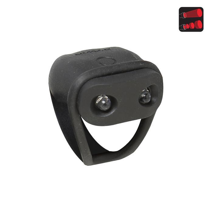 Led fietslampje op batterijen SL 100 achter zwart