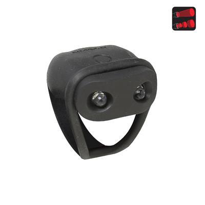 جهاز الإضاءة الخلفية للدراجة - لون أسود B'TWIN VIOO 100