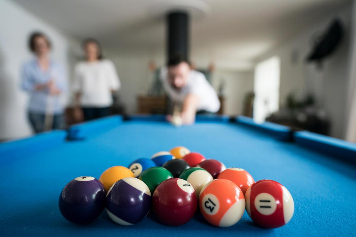 goed breaken bij pool - 15 ballen