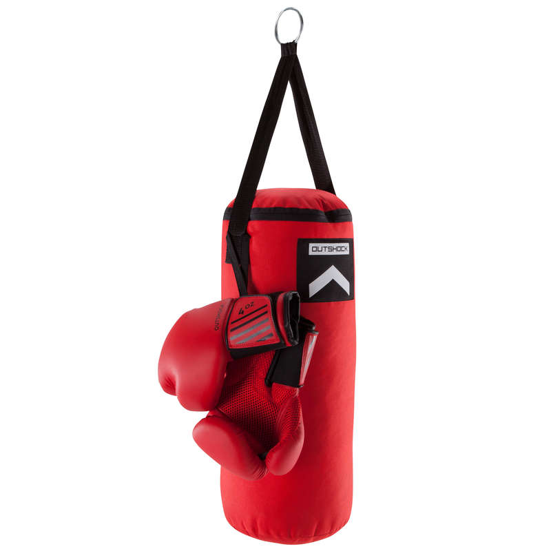 PUNCHING BAGS Boxing - Kids' Boxing Set BP OUTSHOCK - Boxing Training Equipment
