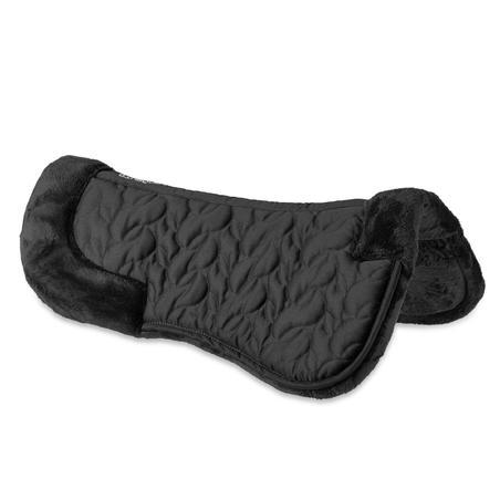 Lena Polaire Foam Horse Riding Saddle Pad For Horse and Pony - Black