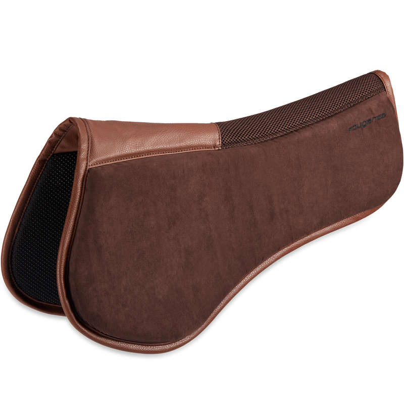 SHOCK ABSORBERS HORSE Horse Riding - 500 Pad - Brown FOUGANZA - Saddlery and Tack