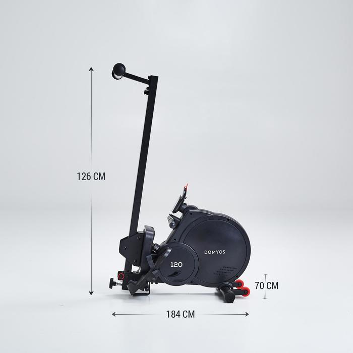 Roeitrainer 120, opvouwbaar, vliegwiel van 4kg
