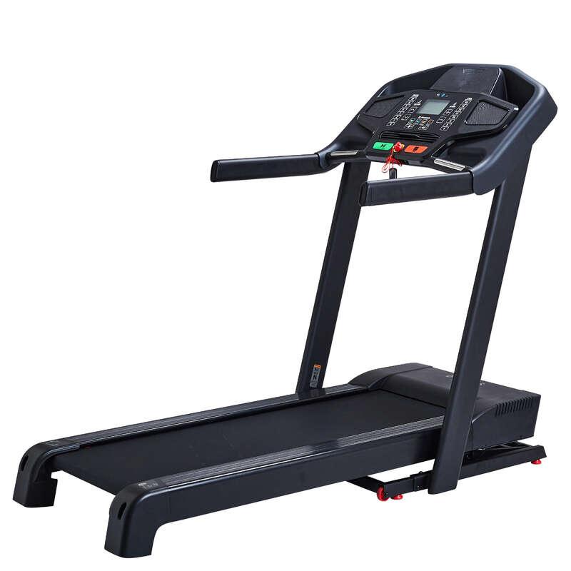 BIEŻNIE DO BIEGANIA I CHODZENIA FITNESS Fitness, siłownia - Bieżnia do biegania T900B DOMYOS - Sprzęt Fitness Cardio