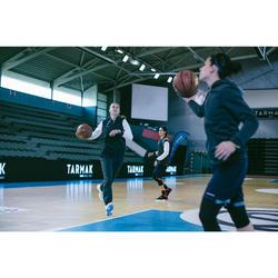 Basketbal joggingbroek P100 donkergrijs (dames)