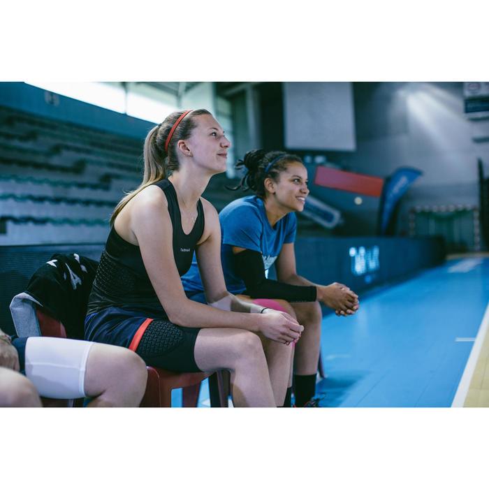 Basketball-Unterziehshorts Protection Damen schwarz