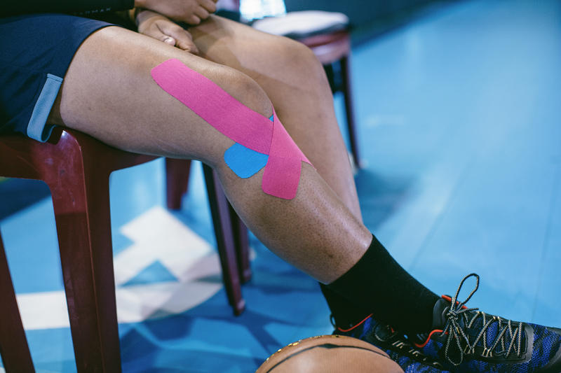 5 cm x 5 m Kinesiology Support Strap - Pink