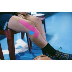 Tape Kinesiologie 5 cm × 5 m rosa