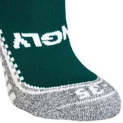 Chaussettes de hockey sur gazon enfant et adulte Hingly vert
