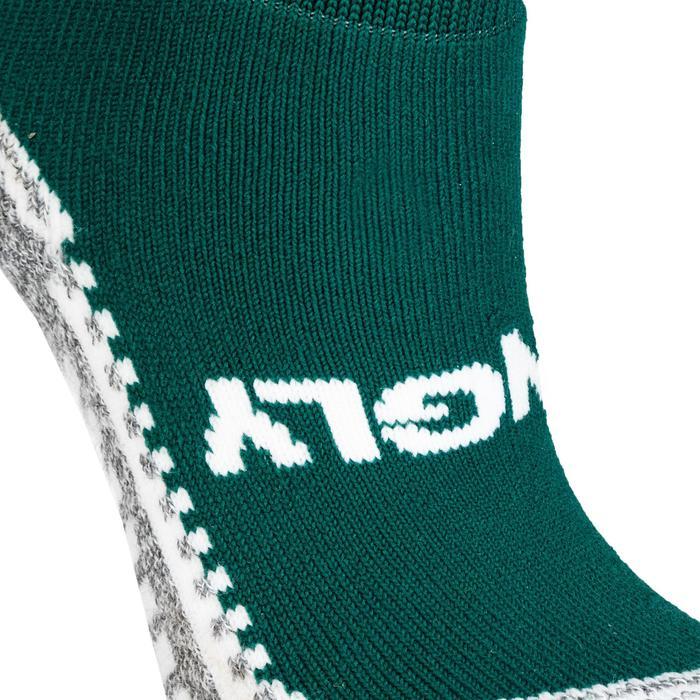 Hockeysokken voor kinderen en volwassenen Hingly groen
