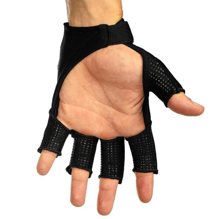 Handschoen voor heel intensief veldhockey volwassenen OD zwart