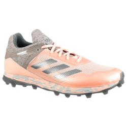 Hockeyschoenen voor dames gemiddelde intensiteit Fabela Zone roze