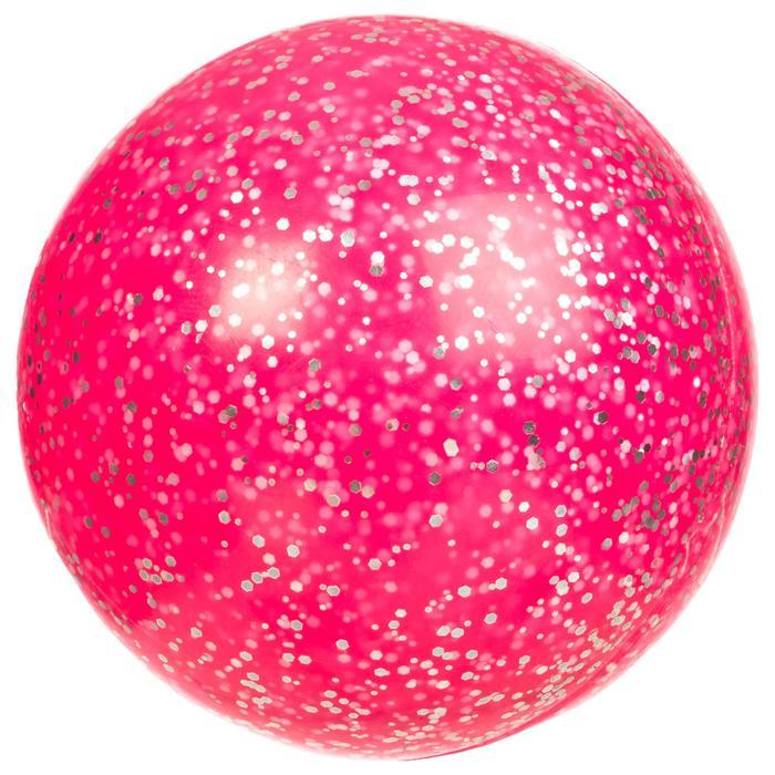 Veldhockeybal glad fuchsia roze glitters