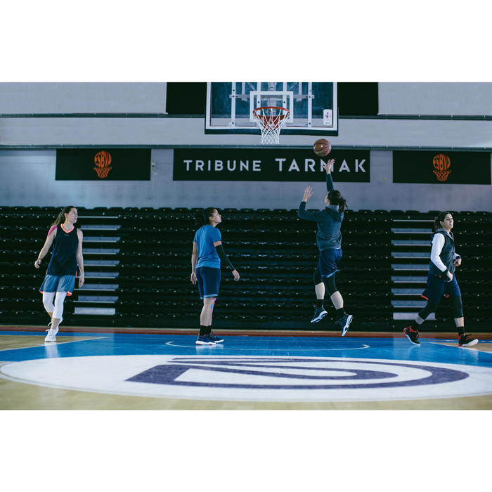 Set van 2 paar basketbalsokken voor heren/dames SO500 Mid zwart