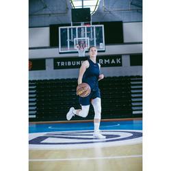 男/女款籃球中筒襪SO500(2雙入)-白色