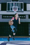 BASKETBALOVÁ OBUV DOSPĚLÍ Basketbal - BASKETBALOVÁ OBUV SC500 MID TARMAK - Basketbal