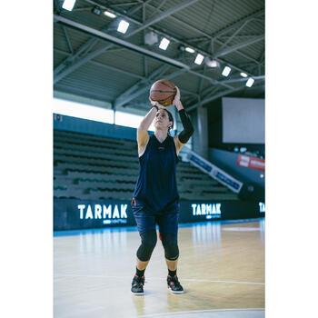 Basketballschuhe Shield 300 Damen/Herren Einsteiger schwarz/weiß/rot