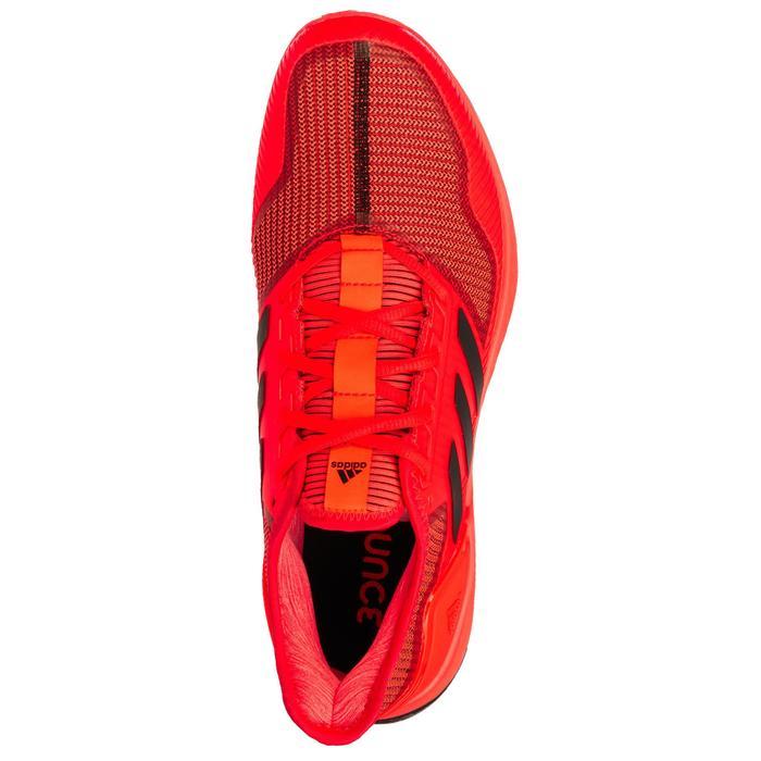 Chaussures de hockey sur gazon adulte intensité forte Adipower orange et noir