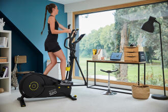 How to get toned with a cross trainer