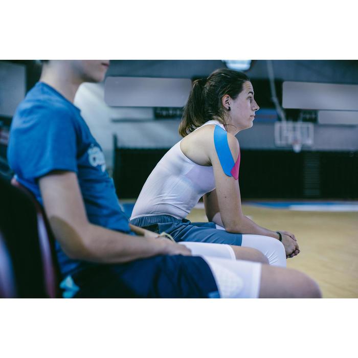 Camiseta Térmica Sin Mangas Baloncesto Tarmak UF500 F Mujer Blanco