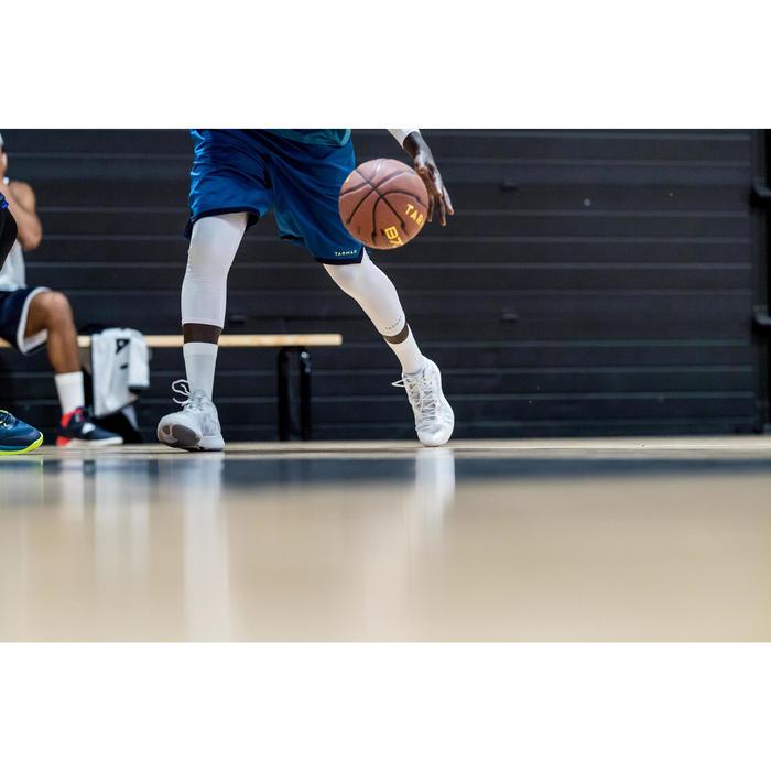 Basketballschuhe SC500 Mid Herren weiß