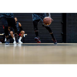 Basketballschuhe Shield 500 Fortgeschrittene Damen/Herren rot/schwarz