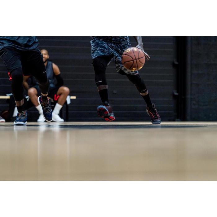 Basketbalschoenen Shield 500 rood/zwart (heren)
