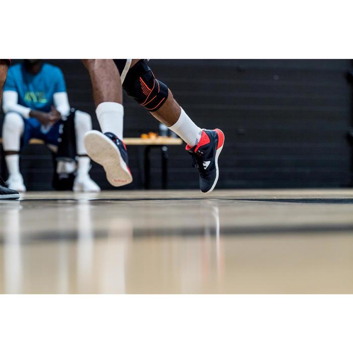 Basketballschuhe Shield 300 Herren weiß/blau/rot