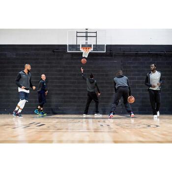 Basketbal joggingbroek P100 zwart (heren)