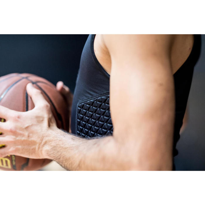 SOUS-VÊTEMENT PROTECTION NOIR BASKETBALL TARMAK POUR JOUEUR CONFIRME
