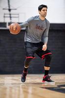 Shield 300 Beginner Basketball Shoes Black/White/Red