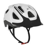 Bela kolesarska čelada ST 100