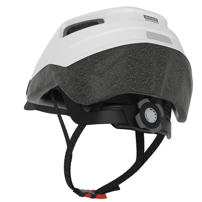 Fahrradhelm MTB 100 weiß