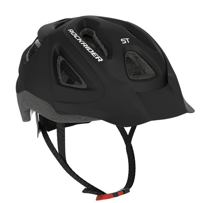 MTB-Fahrradhelm ST 100 schwarz