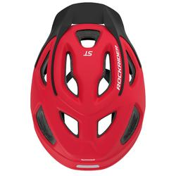 Fahrradhelm MTB ST 100 rot